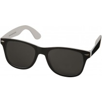 Sun Ray sunglasses - black with colour pop