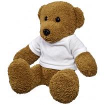 Large plush rag bear with shirt