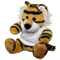 Tiger plush with shirt