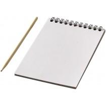 Colourful scratch pad